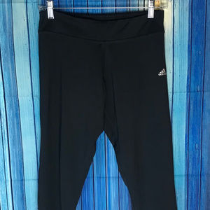 Adidas Womens Activewear Leggings Medium Stretch